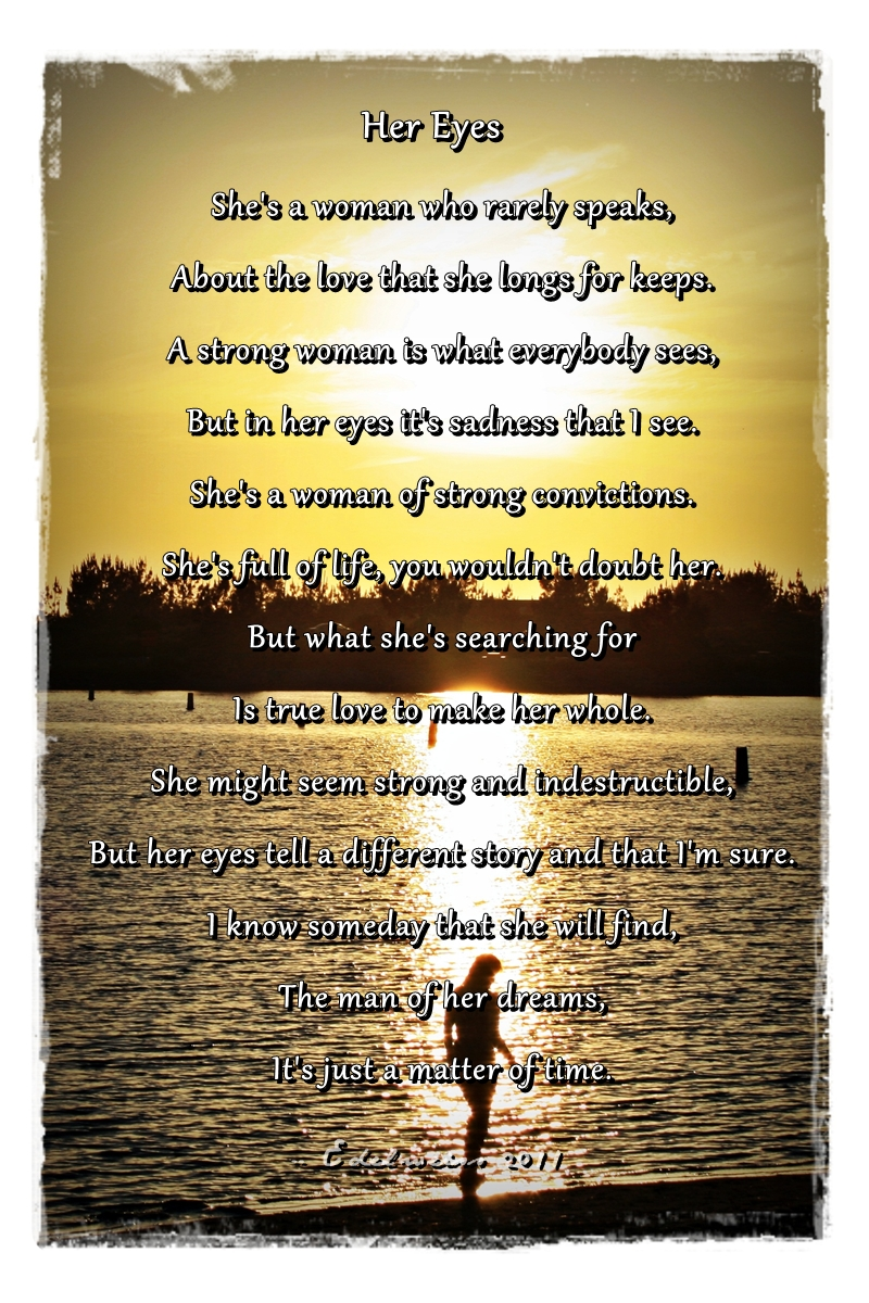 For her peom Love Poems