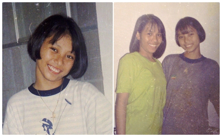 Back when short hair was my preference some eighteen years ago! Hahahaha! :)
