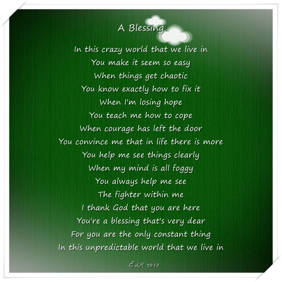 Thankful Poems 6
