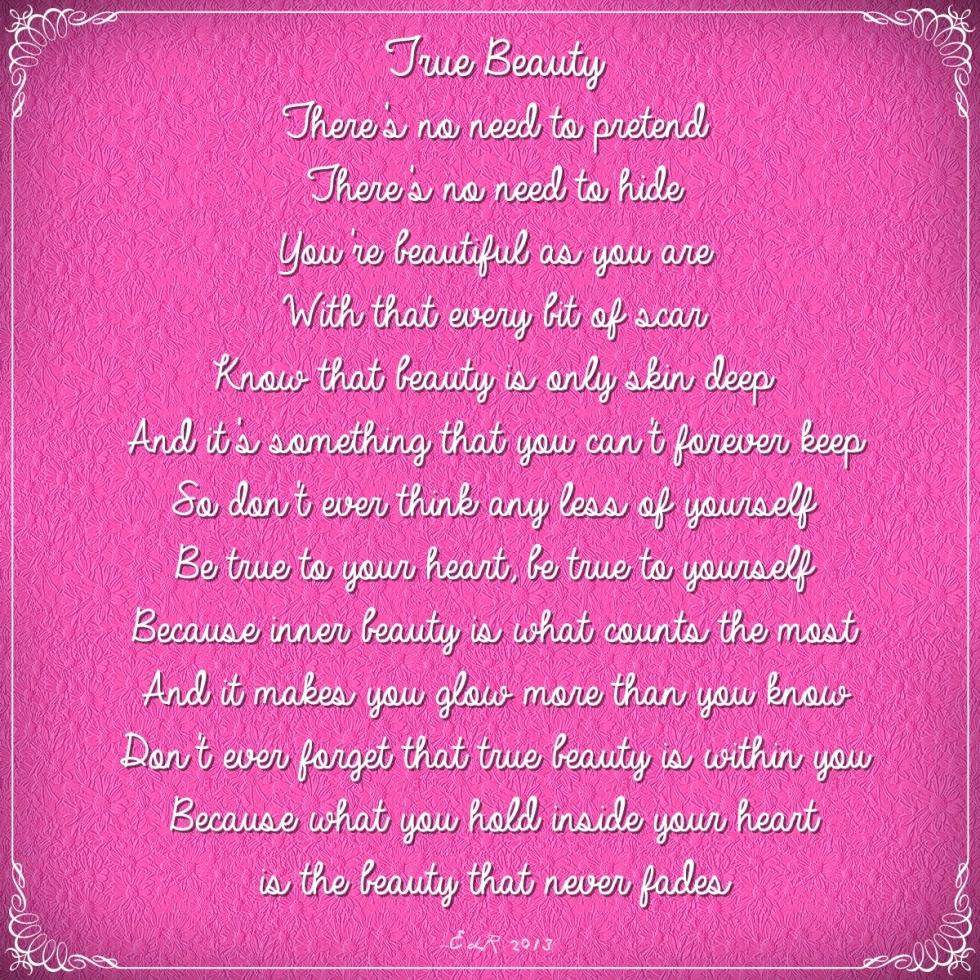 NaPoWriMo 2013 21 True Beauty