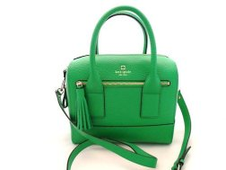 Kate Spade Alessa Southport Avenue in Emerald Leather