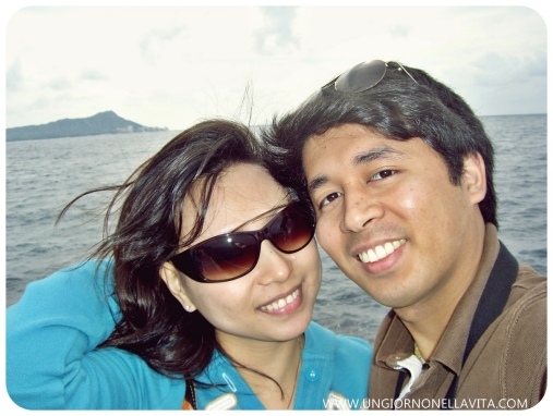 "Our ""SELFIE"" (WEFIE) back in '08! I just realized that we've been doing the ""SELFIE"" (or WEFIE) back when the word ""selfie"" wasn't part of our vocabulary yet :D. Hehehehe!"