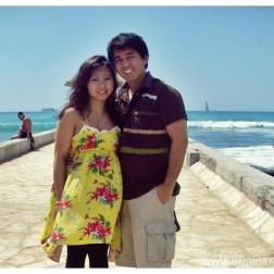 Waikīkī (/waɪkiːˈkiː/; Hawaiian: [vɐiˈkiːˈkiː] or [wɐiˈkiːˈkiː]) is a beachfront neighborhood of Honolulu, on the south shore of the island of Oʻahu, in Hawaii, United States. Waikiki is best known for Waikīkī Beach, the white sand beach shoreline fronting the neighborhood. Waikīkī is home to public places including Kapiʻolani Park, Fort de Russy Military Reservation, Kahanamoku Lagoon, Kūhiō Beach Park, and Ala Wai Harbor. The name Waikīkī means spouting fresh water in the Hawaiian language, for springs and streams that fed wetlands that once separated Waikīkī from the interior. (Wikipedia)