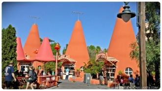 Cozy Cone Motel at Disney's California Adventure Park.