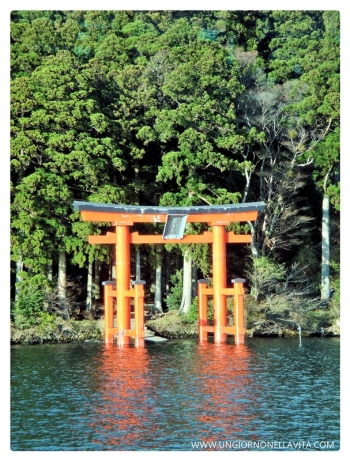 The Torii of Hakone Shrine at Lake Ashi