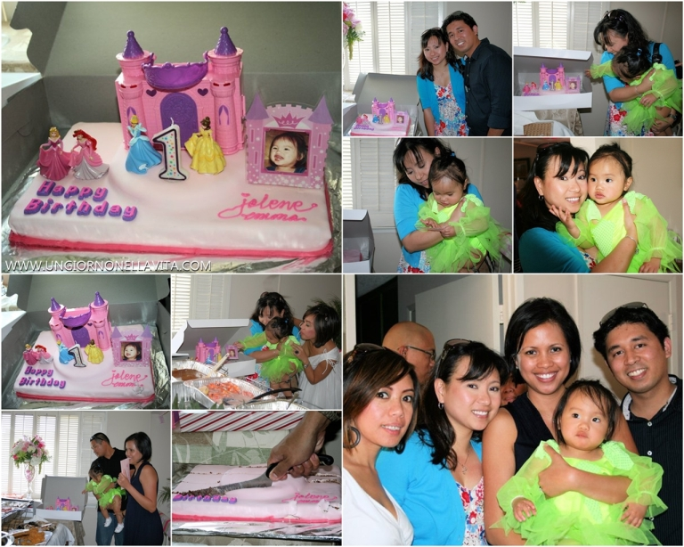 With the birthday girl and her Mommy! <3