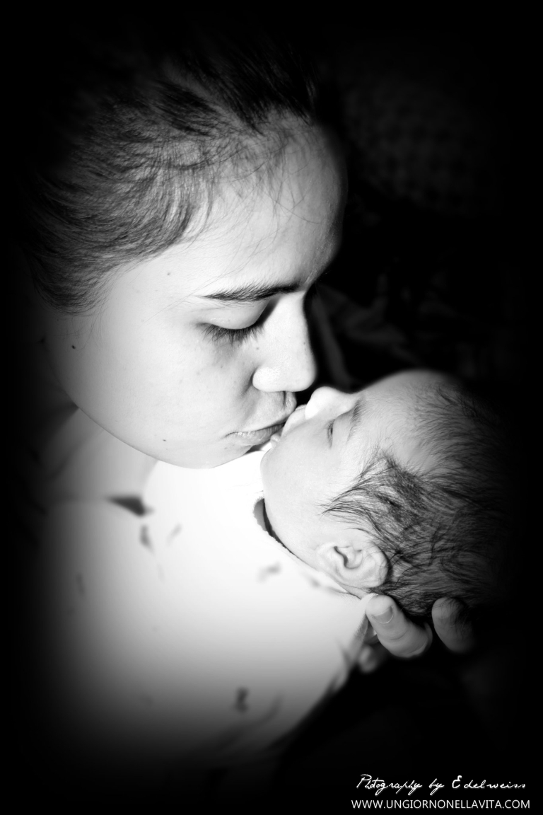 This is my sister-in-law and her first born who is my goddaughter. :)