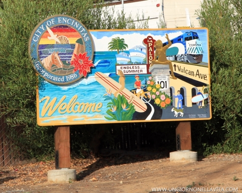 Welcome to Encinitas! :)
