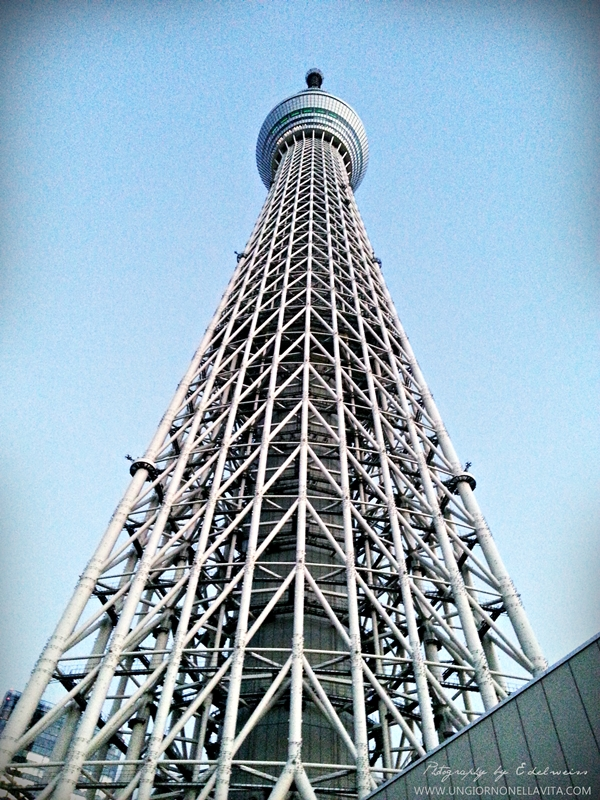 Tokyo Skytree (東京スカイツリー Tōkyō Sukaitsurī?) is a broadcasting, restaurant, and observation tower in Sumida, Tokyo, Japan. It became the tallest structure in Japan in 2010 and reached its full height of 634.0 metres (2,080 ft) in March 2011, making it the tallest tower in the world, displacing the Canton Tower, and the second tallest structure in the world after Burj Khalifa (829.8 m/2,722 ft). (Wikipedia)