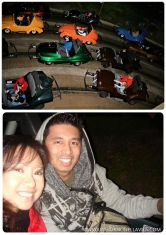 Fun times at Autopia in Tomorrow Land.