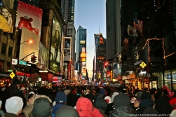 Sooo many peeps at Time Square for New Year's Eve!