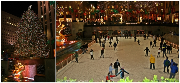 The Rink at Rockefeller Center.
