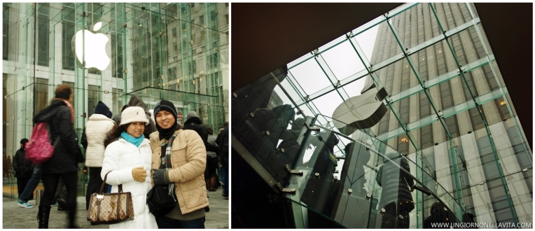 """An """"Apple"""" in the Big Apple! ;-) :D"""